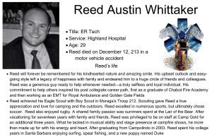 Reed Austin Whittaker