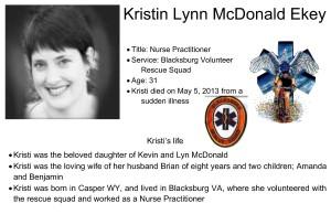 Kristin Lynn McDonald Ekey