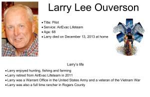 Larry Lee Ouverson