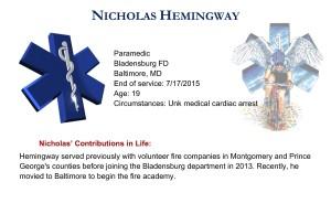 Nicholas Hemingway