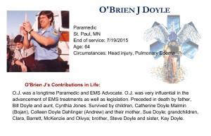 O'Brien J Doyle