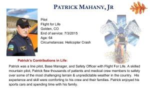 Patrick Mahany, Jr
